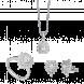 Bộ trang sức bạc PNJSilver Retro Forest đính đá