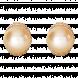 Bông tai PNJ vàng 18K đính ngọc trai South sea 80253.301