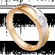 Nhẫn cưới PNJ Chung Đôi Vàng 18K đính đá ECZ Swarovski 82561.102