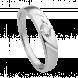 Nhẫn cưới Kim cương PNJ Vàng trắng 14K 60814.500
