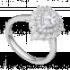 Nhẫn bạc PNJSilver Retro Forest đính đá 92374.100