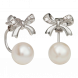 Bông tai PNJ Vàng trắng 14K đính ngọc trai Freshwater 81717.600