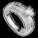 Nhẫn Kim cương PNJ vàng trắng 14K 80525.5A5