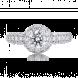 Nhẫn Kim cương PNJ Vàng trắng 14K 81442.5A0