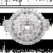 Vỏ nhẫn Kim Cương PNJ vàng trắng 18K