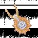 Mặt dây chuyền PNJ Vàng 10K đính đá màu vàng 95884.400