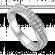 Nhẫn cưới Kim cương PNJ vàng trắng 14K
