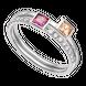 Nhẫn bạc PNJSilver Radiance of Joy mix đá Swarovski 92497.400