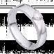 Nhẫn cưới Kim cương PNJ Chung Đôi Vàng trắng 14K 77099.5A0
