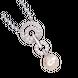 Mặt dây chuyền bạc PNJSilver Her Time đính ngọc trai 13316.200