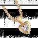 Mặt dây chuyền Kim cương PNJ vàng 14K