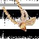 Mặt dây chuyền PNJ Sắc Xuân vàng 18K đính đá Citrine