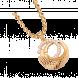 Mặt dây chuyền PNJ Vàng 14K đính đá CZ 95234.100