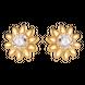 Bông tai PNJ vàng 10K đính đá Swarovski 97432.100