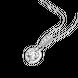 Mặt dây chuyền Vàng trắng 10K đính đá ECZ Swarovski PNJ XMXMW000428