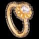 Nhẫn PNJ vàng 10K đính đá Swarovski 97434.100