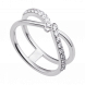 Nhẫn bạc PNJSilver Fantasia đính đá 92705.100