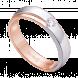Nhẫn cưới Kim cương nam PNJ Tình Hồng Vàng 18K 82600.500