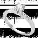 Nhẫn Kim Cương PNJ Vàng trắng 14K 07774.5B5