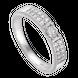 Nhẫn cưới Kim cương PNJ Vàng Son Vàng trắng 14K 76536.5A0