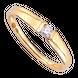 Nhẫn cưới Vàng 18K đính đá ECZ Swarovski PNJ Chung Đôi XM00Y000868