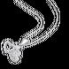 Mặt dây chuyền bạc đính đá PNJSilver XMXMK000162
