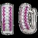Bông tai Vàng trắng 14K đính đá Ruby PNJ RBXMW000011