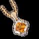 Mặt dây chuyền Vàng 18K đính đá Citrine PNJ CTXMY000121