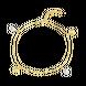 Lắc chân vàng Ý 18K PNJ 0000C060088