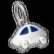 Hạt charm treo trẻ em DIY PNJSilver Gem Melting hình xe hơi 0000L000005