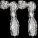 Bông tai Kim cương Vàng trắng 14K PNJ DDDDW000704