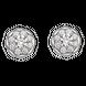 Bộ trang sức kim cương Vàng trắng 14K PNJ 00904-01409