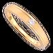 Nhẫn cưới Vàng 18K đính đá ECZ Swarovski PNJ Chung Đôi XM00Y000863