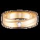 Nhẫn cưới nam Vàng 18K đính đá ECZ Swarovski PNJ XM00Y000879