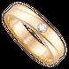 Nhẫn Cưới nam PNJ Vàng 18K đính đá ECZ Swarovski 78561.102