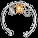 Vòng tay trẻ em bạc đính đá PNJSilver Winnie The Pooh XM00C000003