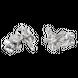 Bông tai Vàng trắng 10K đính đá ECZ Swarovski PNJ Snow White & the Seven Dwarfs XMXMW000917