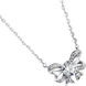Dây cổ Vàng trắng 10K đính đá ECZ Swarovski PNJ Snow White & the Seven Dwarfs XMXMW000154
