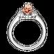 Nhẫn Vàng 10K đính đá ECZ Swarovski PNJ Beauty & The Beast XMXMH000079