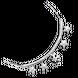 Lắc tay bạc đính đá PNJSilver Frozen XMXMW000004