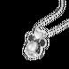 Mặt dây chuyền trẻ em bạc đính đá PNJSilver Mickey Alone ZTZTW000001