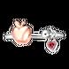 Nhẫn bạc đính đá PNJSilver Snow White & the Seven Dwarfs ZT00H000001