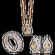 Bộ trang sức PNJ Mystery Vàng 10K đính đá ECZ