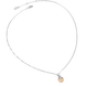 Dây cổ Vàng 10K đính đá ECZ Swarovski PNJ Cinderella XMXMC000039