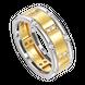 Nhẫn nam kim cương Vàng 18K PNJ DDDDC000504
