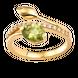 Nhẫn Vàng 14K đính đá Peridot PNJ Sắc Xuân NPXMY000013