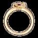 Nhẫn Vàng 18K đính đá Ruby PNJ Beauty & The Beast RBXMY000821