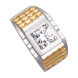 Nhẫn nam Vàng 10K đính đá ECZ Swarovski PNJ XM00C000007