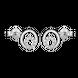 Bông tai bạc đính đá PNJSilver XM00K000138