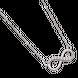 Dây cổ bạc đính đá PNJSilver XMXMK000062